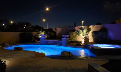 Photo for Private Estrella Mountain Ranch Pool Home with NO HOME BEHIND!!