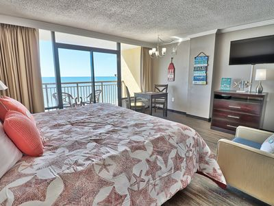 Photo for Penthouse King Suite Oceanfront Getaway