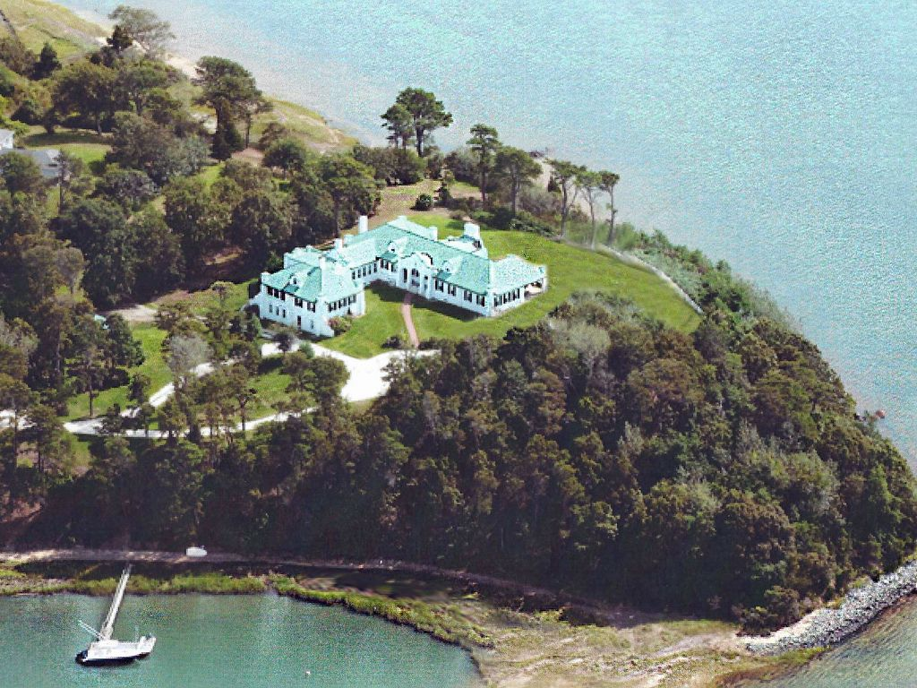 Waterfront Estate With Private Beach On Pleasant Bay