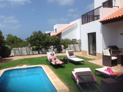 Photo for **Limited time reduced prices** Sea view villa/private pool. Meliá Dunas Beach