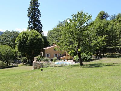 Photo for Provence Superb Bastide with Pool in Private 15 Acres Vale near Lake