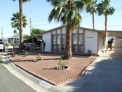 Photo for Lovely Landscaped Private Yard Snuggled In The Sunny Desert