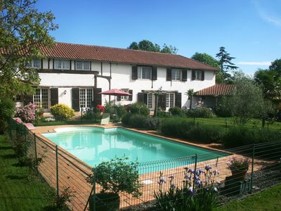 Photo for Country House, private, heated pool.  Jazz in Marciac 2019, nr Golf  & Pyrenees