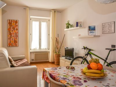 Photo for Holiday apartment few minutes from one of Lake Garda's most beautiful beaches.