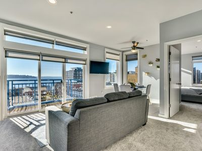 Photo for Modern Belltown  with Amazing Views in every room!