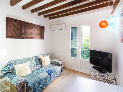 Photo for Modern vintage apartment in historic centre of Palma
