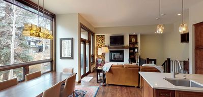 Photo for Elegant 2 BR Condo, steps away from Lift#20 - Millrace 6B