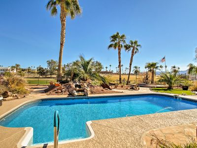 Photo for NEW! Lavish Lake Havasu Home w/Pool on Golf Course