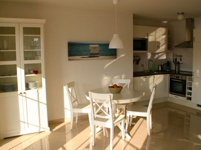 Photo for Attractive, sunny apartment with garden, WiFi, Waschm. and only 300 meters to the Str.