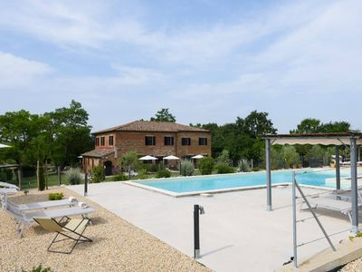 Photo for Country House with contemporary interiors. Pool with stunning views!