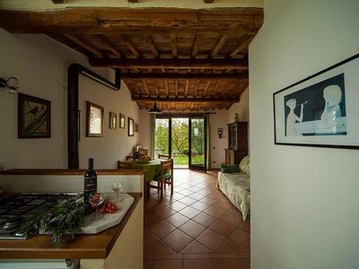 Photo for Offer August -5% Casa Erika, app. in the Podere Porcino, with a fantastic panorama