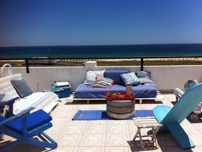 Photo for Apartment Meia Praia Blue View
