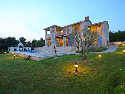 Photo for Villa Sterpazzi with Sea View, Private Heated Pool, Private Chef and Jacuzzi