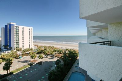 Blue Water Resort 820 Newly Decorated Condo With Wonderful Ocean View Myrtle Beach