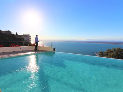 Photo for Villa beautiful mediterranean furnished all care, with spectacular views
