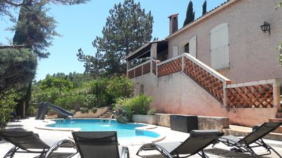 Photo for Provencal villa private and heated pool, 14 pers, games room