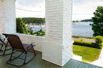 Relax on the front veranda and take in the fabulous views.