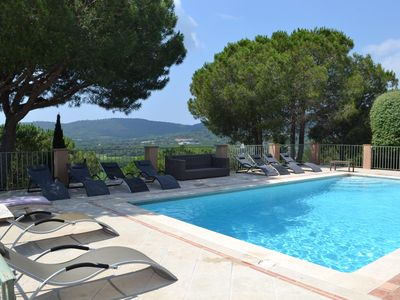 Photo for Beautiful property, countryside, 5 minutes from the beaches of Pampelonne.