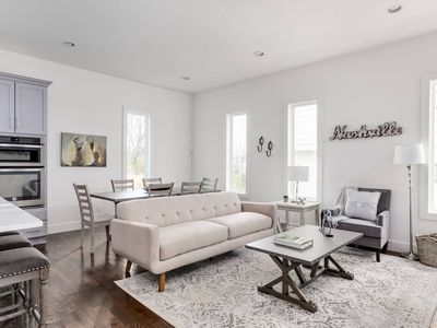 Photo for Sleek 3BR/3BA w/ Rooftop by Downtown by Domio