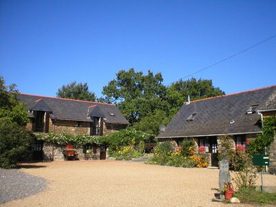 Photo for Jasmine Cottage, South Brittany cottage, free bikes, WiFi, near village