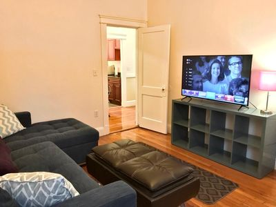 Photo for Wonderful apartment a block from the GreenLine and walkable to BC!