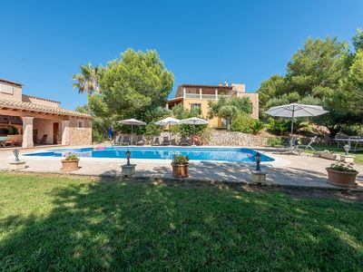 Photo for Es Cap des Puig -  Beautiful and very Comfortable House with large Private Pool and Barbecue! - Free WiFi