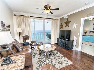 Photo for ☀2BR Gulf Front @ Tropic Winds 1104☀Huge Balcony! Aug 16 to 19 $772 Total!