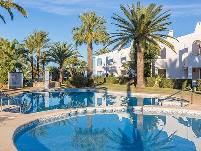 Photo for 3 bedroom Apartment, sleeps 6 in Las Bovetes with Pool and Air Con