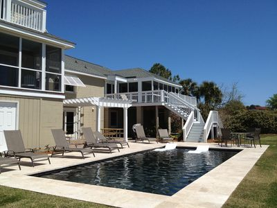 Photo for Sullivan's Island Oceanfront Home with Pool
