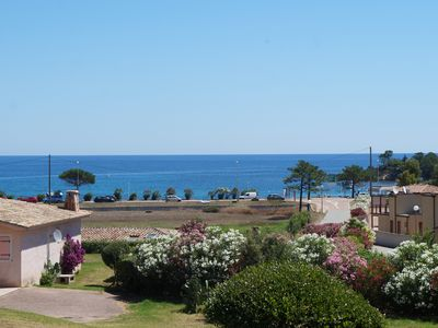 Photo for Mini sea view villa Corse du Sud swimming pool and tennis