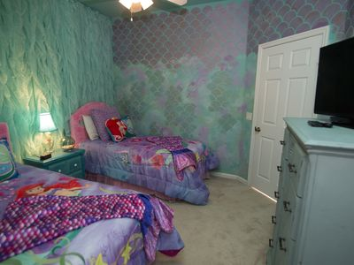 Photo for TWO MILES TO DISNEY! FREE WATERPARK, FREE WI-FI,private pool -more!Themed Rooms!