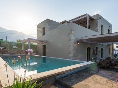 Photo for Private stone villa with outdoor pool, sleeps 7