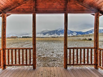 Photo for Paradise Valley Cabin by Chico & Yellowstone Park!