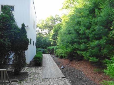 Entry, handicapped accessible
