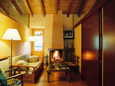 Photo for Great lodge with quiet terrace , spendid view, full equipped for 4 - 5 people.