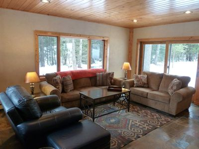 Photo for Perfect Multi-Family Getaway! Your Own Private Forest Retreat Awaits!