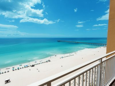 Photo for Family-friendly condo w/ beach & Gulf views plus a shared fitness center & pool
