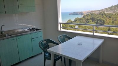 Photo for Two-room apartment F for four people at Residence Nido Verde on the Gargano