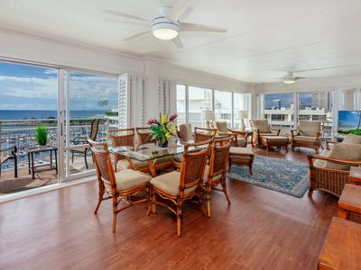 Rarely Available Sweeping Ocean View 2 BDR Ilikai Condo w/ Lots of Amenities!