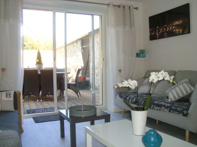 Photo for Between Saumur, Angers, Tours: Charming Cottage for 13 people in the heart of the village