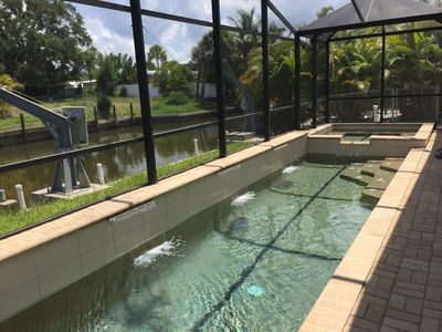 Photo for Private Siesta Key House - Walk to Village & Beach - Heated Pool/Spa - No Stairs