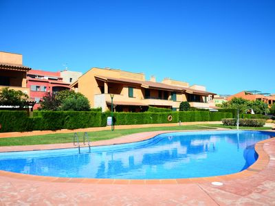 Photo for 2 bedroom Apartment, sleeps 4 in Calafat with Pool, Air Con and WiFi