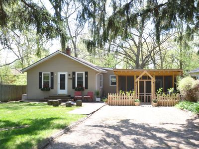 Photo for Charming cottage located in the heart of New Buffalo.
