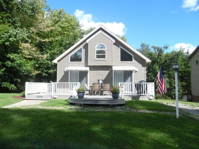Photo for One-of-a Kind Cottage, close to lake, marina and golf, quiet and comfortable