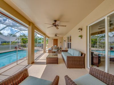 Photo for Enjoy all this Home has to Offers, Family-Fun Amenities, Heat Pool - Villa Mercedes - Cape Coral