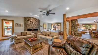 Photo for Elkhorn Lodge Ultimate Mountain Home!Walk to Private Beach/ Private Hot Tub