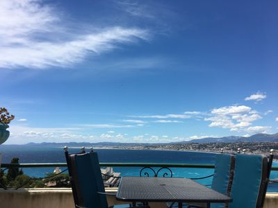 Photo for Nice Mont Boron - 4 rooms in peace close to sea and convenience.
