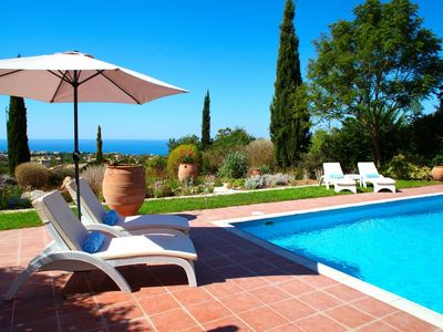 Photo for Luxury villa with 10m x 5m swimming pool, private terrace sleeps 6