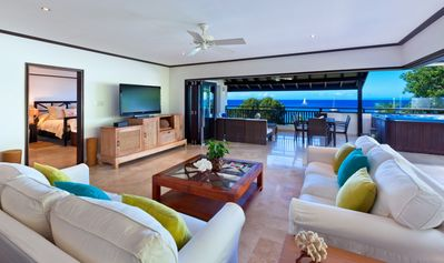 Photo for CORAL COVE 15 PENTHOUSE BARBADOS - Beachfront Penthouse with Amazing located on Paynes