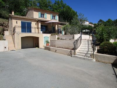 Photo for SUPER PROMO MAY. BEAUTIFUL PRIVATE VILLA 15 KM FROM CÔTE AZUR.